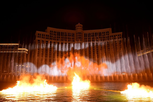 Game of Thrones Production on The Fountains of Bellagio
