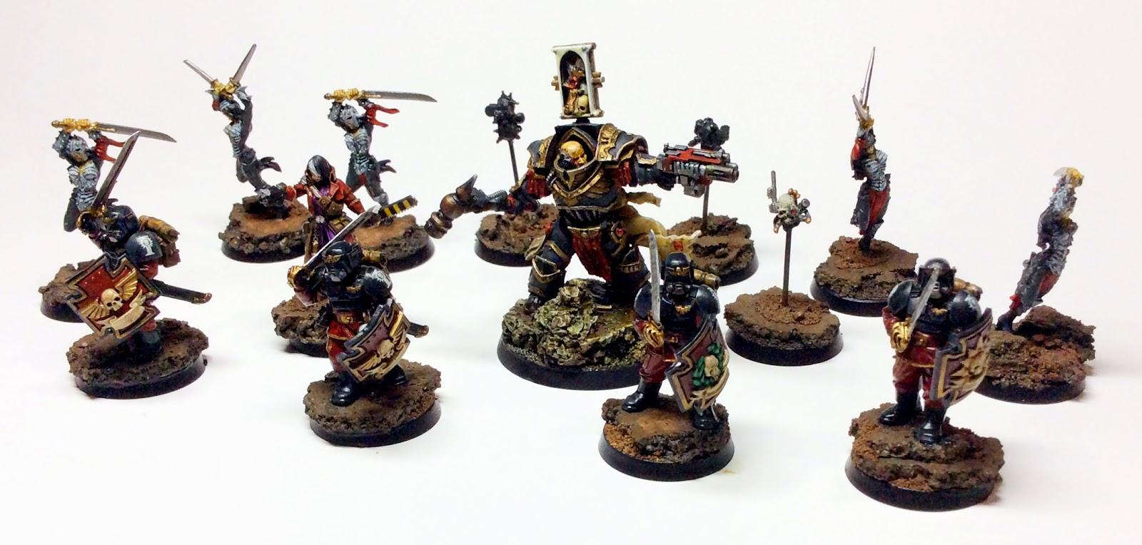 Ordo Malleus Inquisitor and Retinue