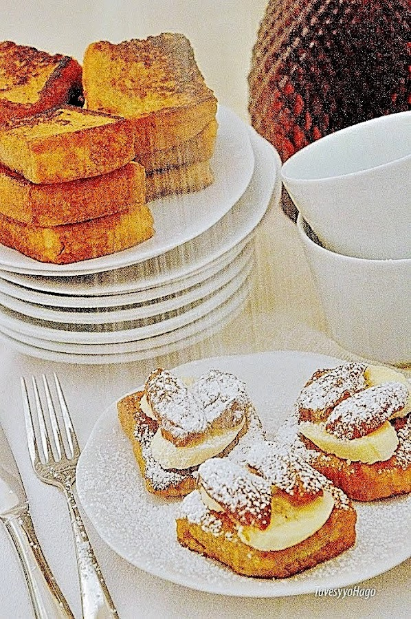 Mini Tostadas Francesas de Dátiles y Plátanos - #Jaquealareina - TuvesyyoHago
