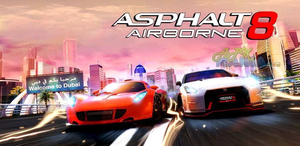داگرتنی یاری Asphalt 8: Airborne بۆ ئهندرۆید و ئای ئۆ ئێس