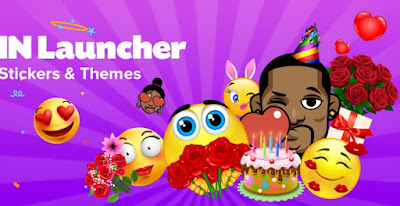IN Launcher – Love Emojis & GIFs, Themes Apk free on Android