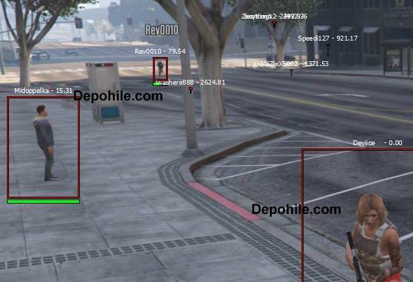 GTA5 Online 1.44 Device ESP Hilesi Çalışıyor (Steam & Socialclub)