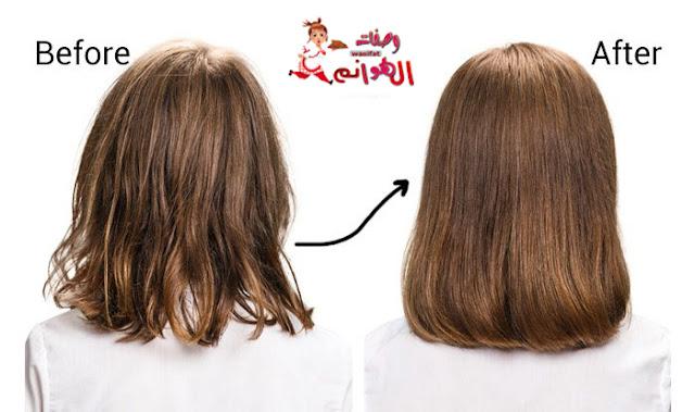 علاج الشعر الضعيف و جعله أقوي