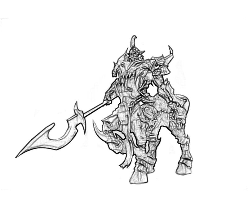 League of legends garen character tubing for League of legends coloring pages