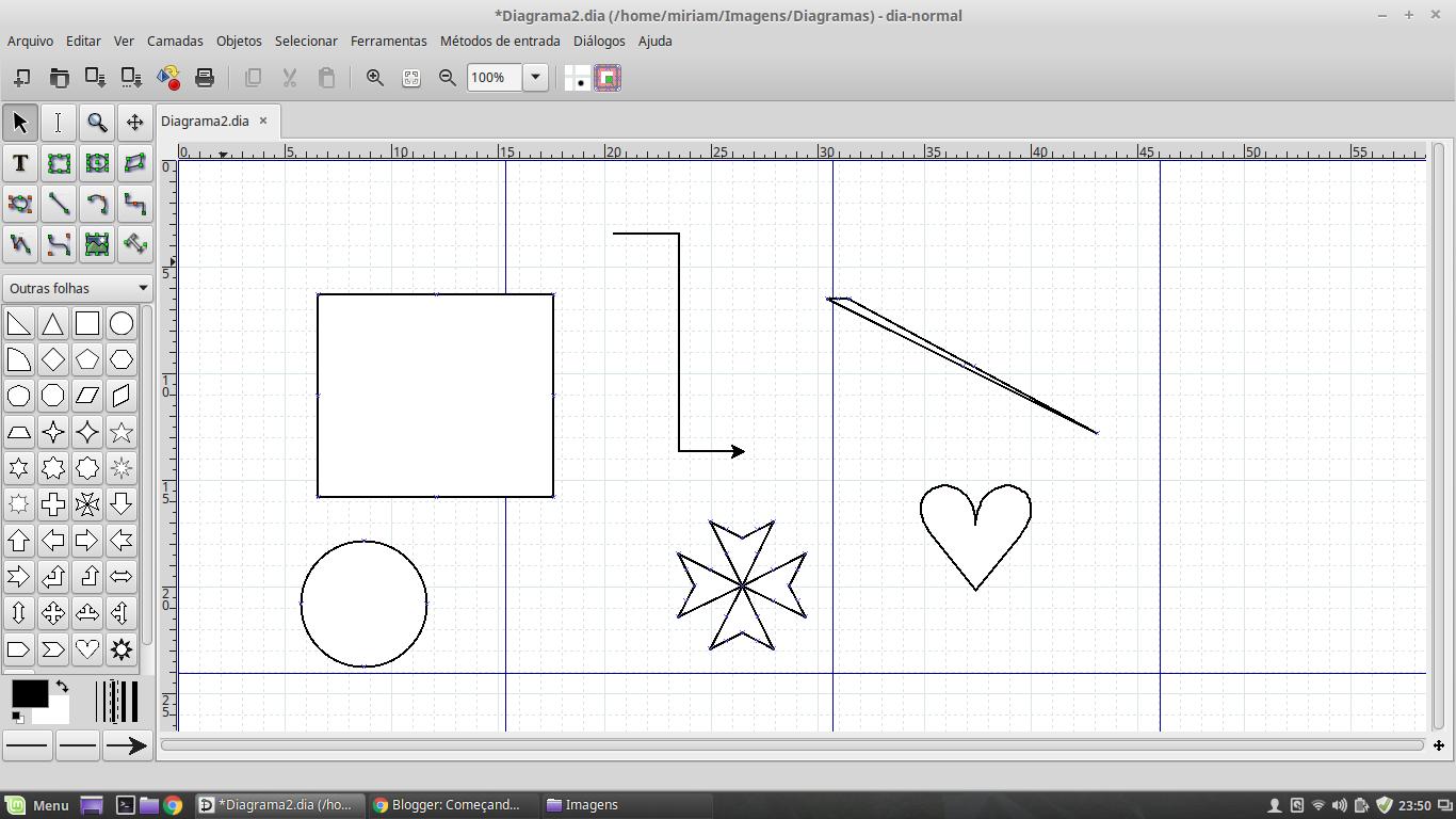 Comeando a usar linux desenhando no linux para saudosos do paint editor de diagramas dia em funcionamento ccuart Gallery