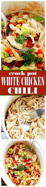Crock Pot White Chicken Chili Recipe
