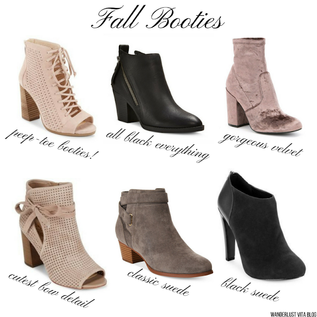 Fall Booties You Need In Your Closet - wanderlust vita.com