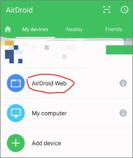 Mengendalikan Hp Android dari PC Laptop 2