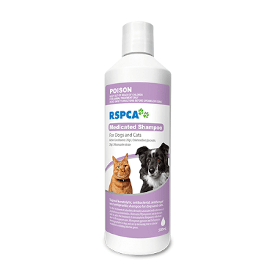 RSPCA Medicated Shampoo