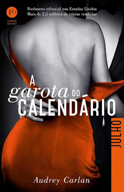 A garota do calendário Julho Audrey Carlan