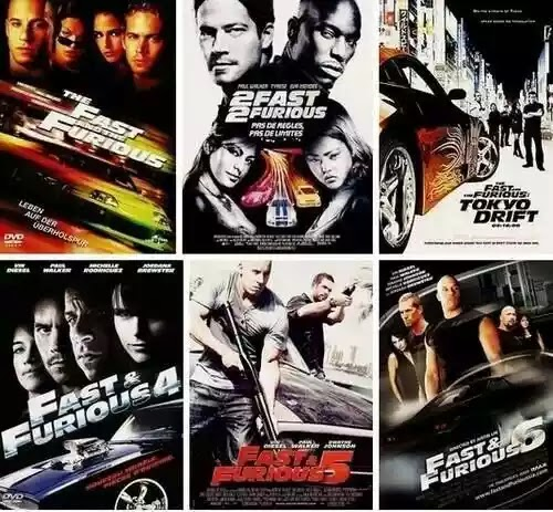 fast and furious all parts collection part 1 8 brrip hindi. Black Bedroom Furniture Sets. Home Design Ideas