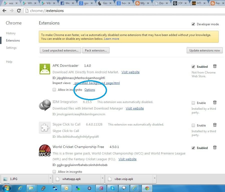 Chrome Handler Apk Download