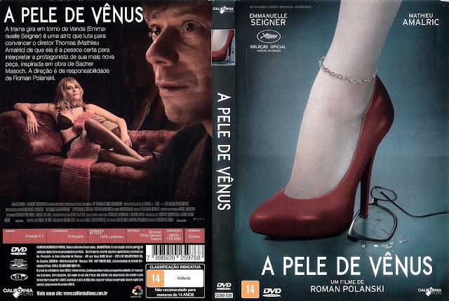 Capa DVD A Pele de Vênus
