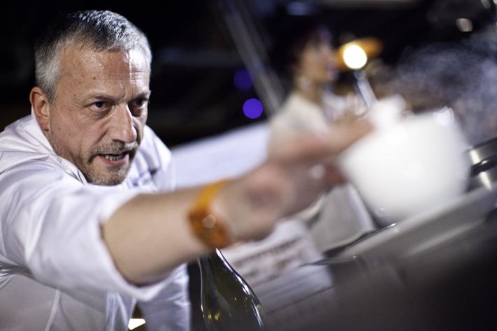 Una ricetta dello chef Davide Scabin