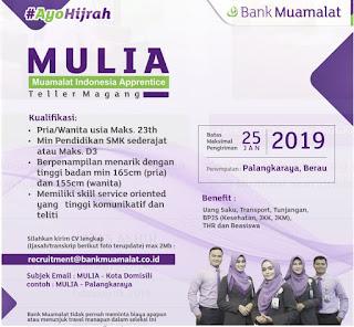 Lowongan Bank Muamalat Terbaru 2019