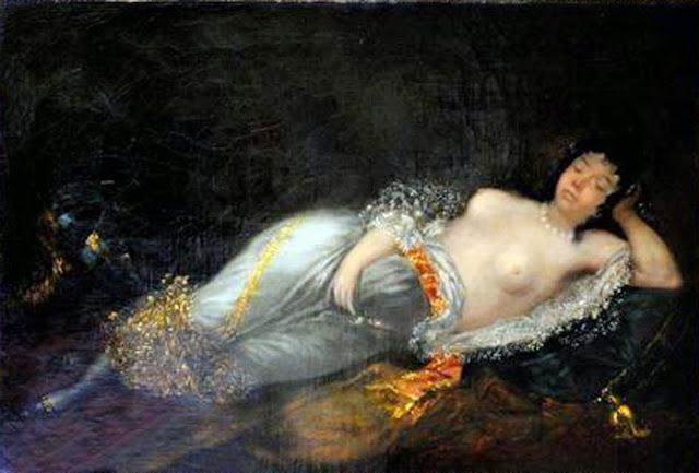 Leonardo Alenza y Nieto, Il nude in arte