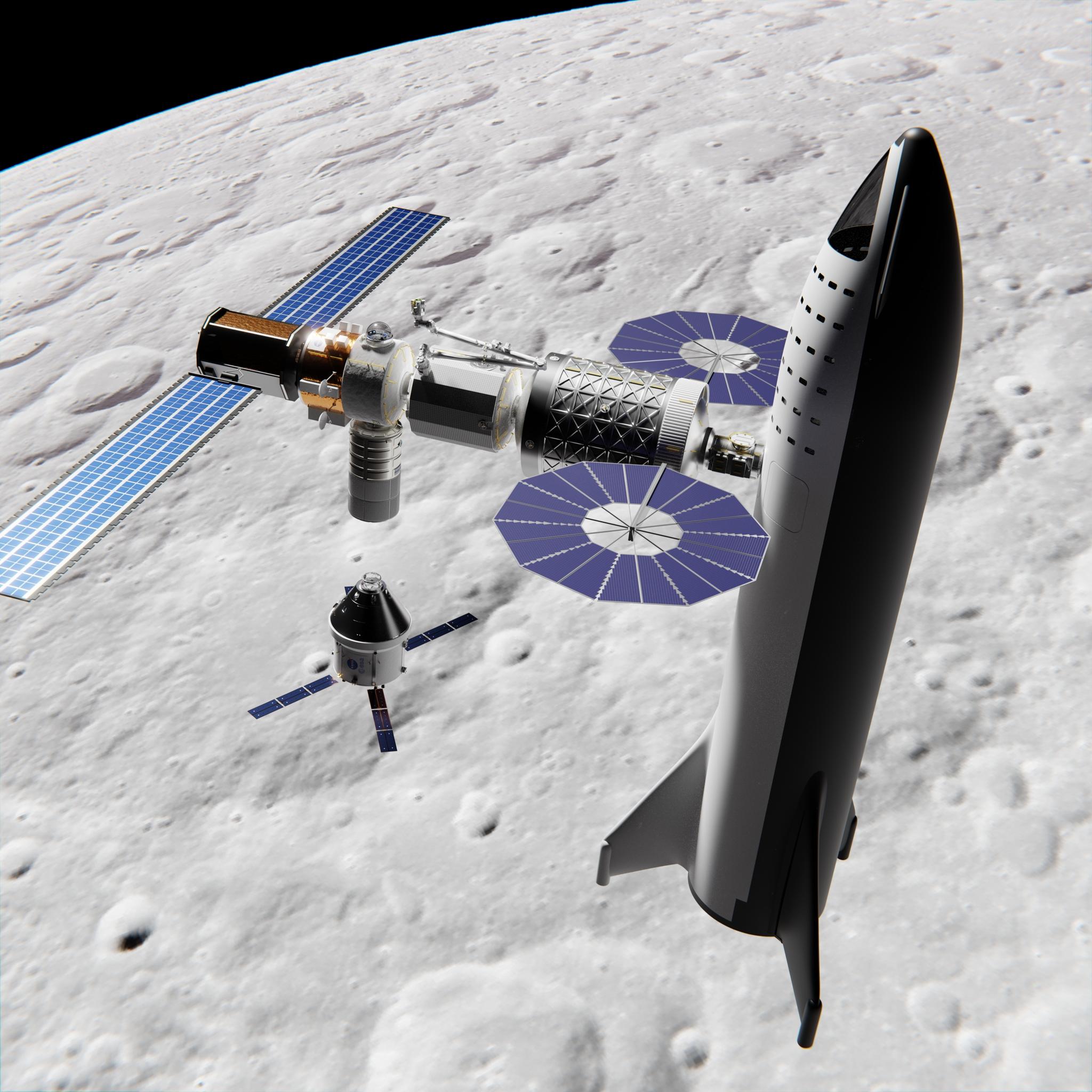 spacex lunar - photo #37