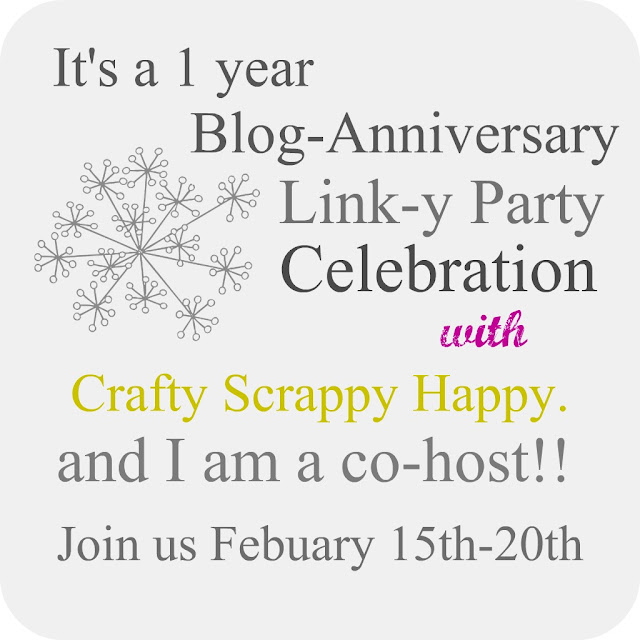 Crafty, Scrappy, Happy: Features from last weeks party and