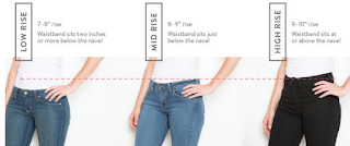 Distended stomach is not an obstacle to wearing jeans. Instead of choosing a high-waist, it's better to choose the type of mid-rise only