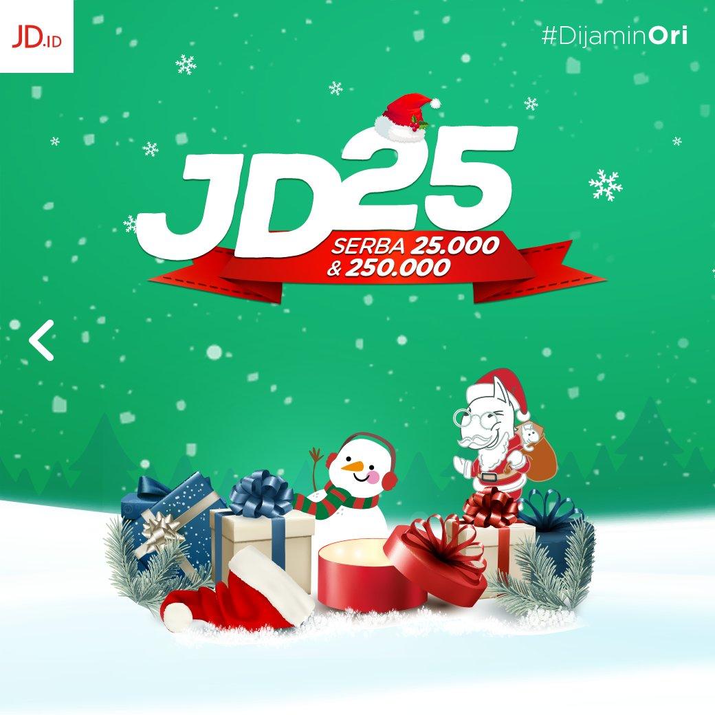 #JDID - Promo Holideals Akhir Tahun 2018 (s.d 25 Des 2018)