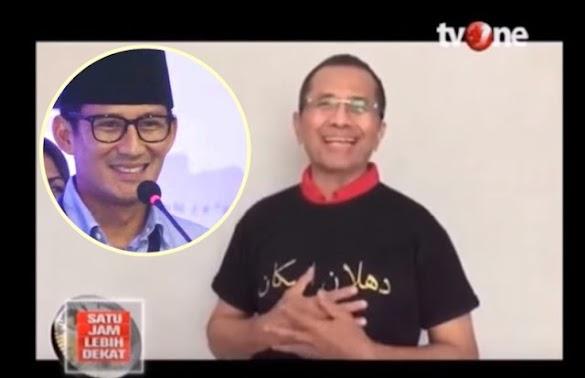 Dahlan Iskan: Sandi Uno yang Membantu Jawa Pos Grup Keluar dari Krisis 97-98