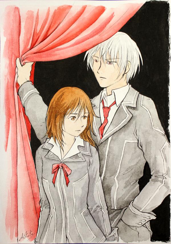 Yuri et Zero de Vampire Knight