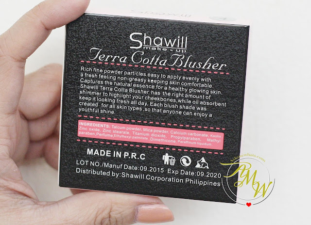 a photo of Shawill Terra Cotta Blusher Review.