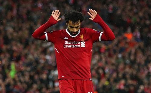 Salah khi thi đấu cho CLB Liverpool