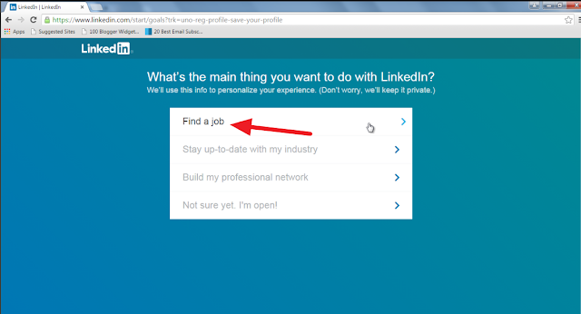 Linkedin, Account, Create, How to, Banaye, Profile