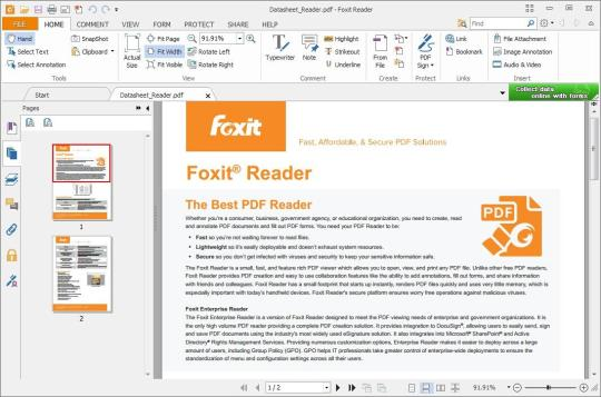 تحميل برنامج قارئ ملفات PDF فوكست ريدر - Foxit Reader