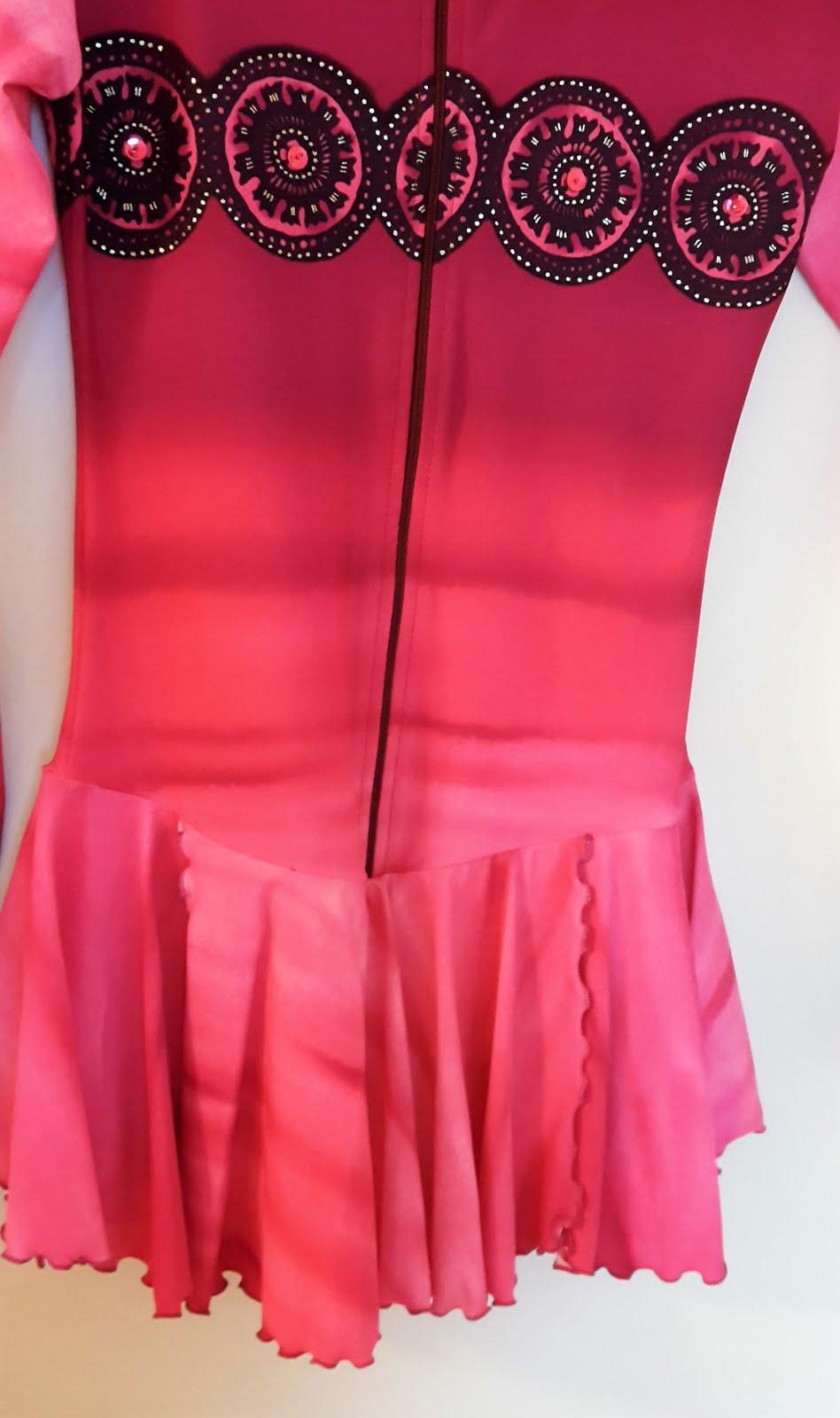 4496b188b8b5a Krasobazár: Predám krasokorčuliarske šaty