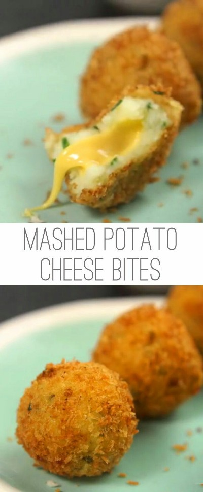 Mashed Potato Cheese Bites. Foto: tiphero.com