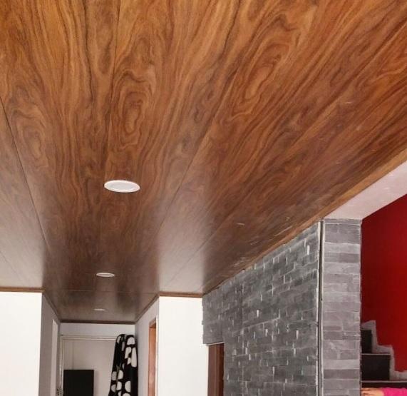 Intervoz cielos rasos o techos en pvc m2 instalado - Falsos techos pvc ...
