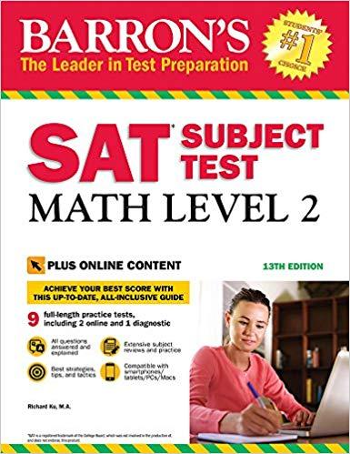 Perfect Scorer Test Prep: SAT Math Level 2 Subject Test: The