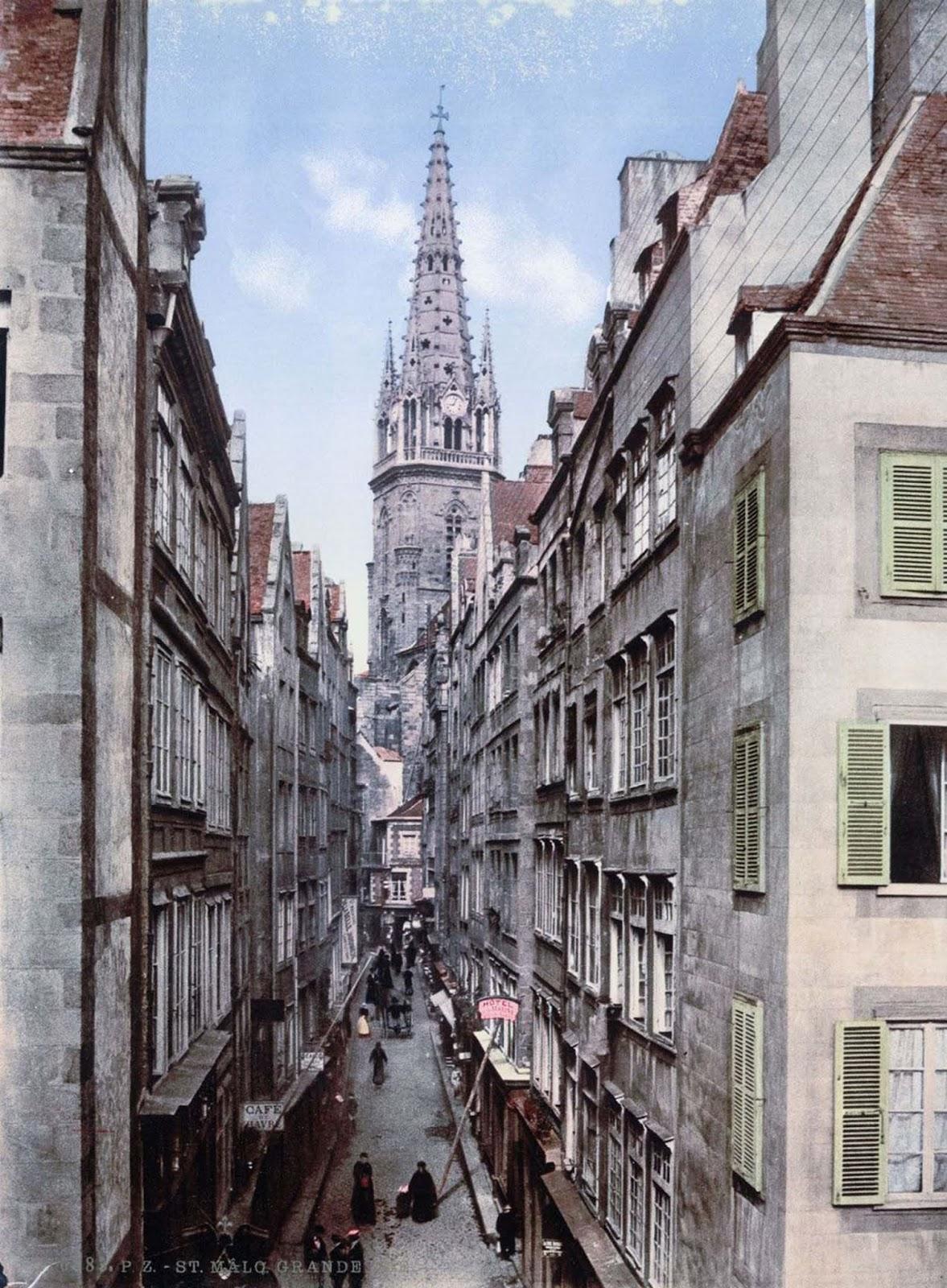 Grand Street, St. Malo.