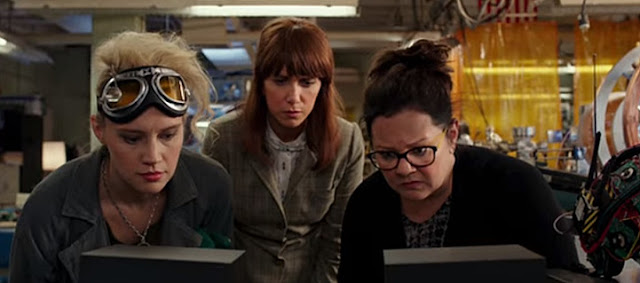 Sinopsis Film Ghostbusters 2016 (Chris Hemsworth, Melissa McCarthy)