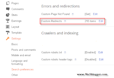 Custom Redirect one post to another in Blogger Blog