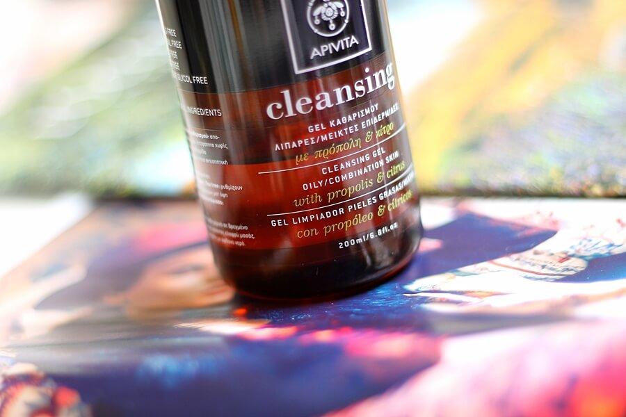 APIVITA CLEANSING GEL WITH PROPOLIS & CITRUS review recenzija