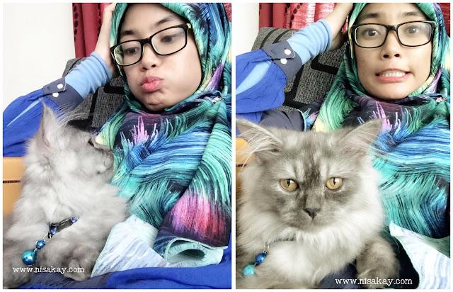 Nisa Kay Sedih Kehilangan Kucing Kesayangan