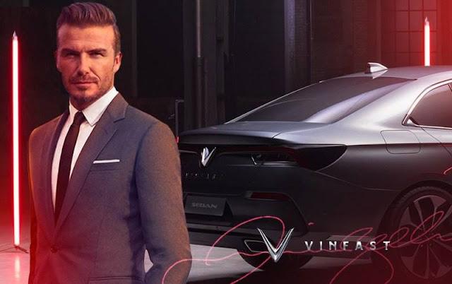 David Beckham đại diện Vinfast