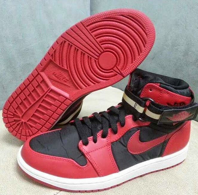 best website 687ff 3cdf8 Here is a look via gaga at the 2015 Air jordan 1 Retro High Strap BRED  Sneaker ,this will be a hit or miss for many! Peep more images after the  jump.