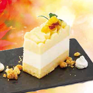 スイートポテトのチーズケーキ