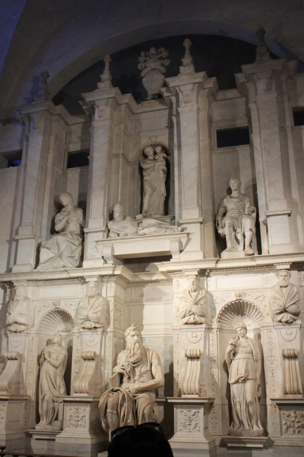 Mediterranean Cruise San Pietro In Vincoli Moses Statue