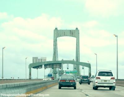 Walt Whitman Bridge in Philadelphia Pennsylvania