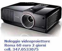 affitto videoproiettore hd