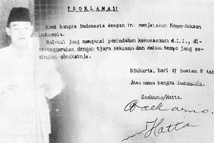 Sejarah Kemerdekaan Indonesia