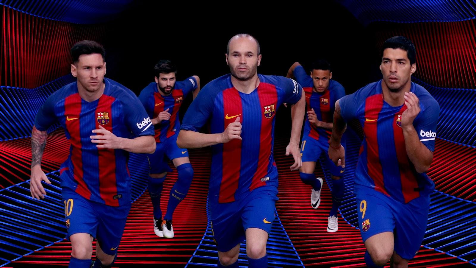 Fond d'écran fc barcelone 2017 - Fonds d'écran HD