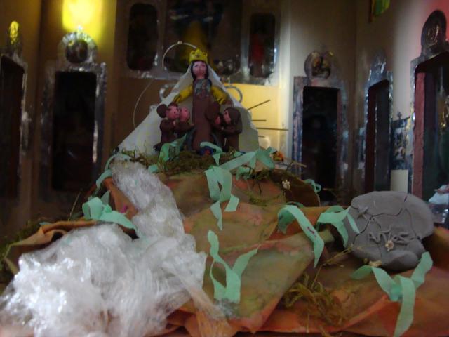 Imagen religiosa en miniatura