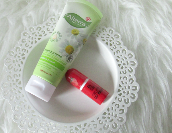 Alterra Handcreme - 75ml - 1.95€  &  Rival de Loop Young Fruity Lip Balm - 1 Stück - 0.99€