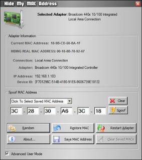 undefined Hide My MAC Address